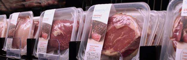 Meat packaging materials from Sealed Air Cryovac