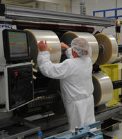 Nexcel M312 slit rolls double wound in ISO 7 cleanroom